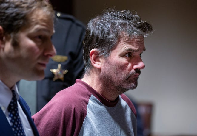 William Blankenship, 55, is arraigned on multiple rape charges dating back to 1999, before Hamilton County Common Pleas Judge Terry Nestor, Monday, February 24, 2020. Blankenship's attorney is Scott Rubenstein, left, who entered a not guilty plea for Blankenship. Bond was set at $1.5 million.