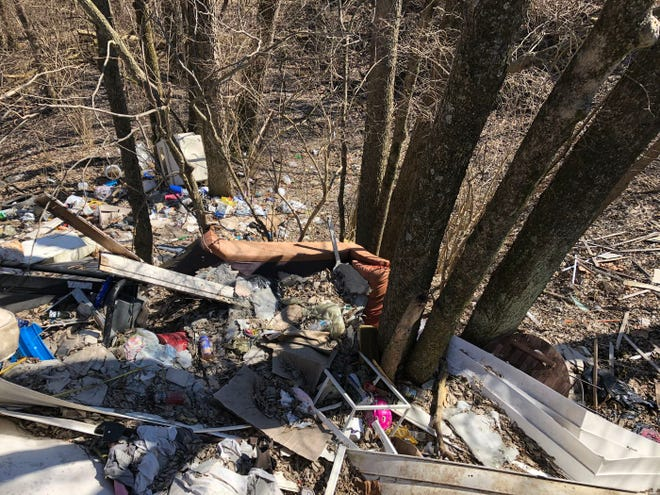 Illegal dumping across Cincinnati cost the city $2.4 million dollars in clean up in 2019.
