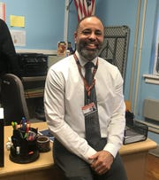 """Michael Manning, a teacher at Soehl Middle School in Linden, was chosen among """"Teachers Who Make Magic"""" by the New Jersey Education Association and radio station Magic 98.3 FM."""