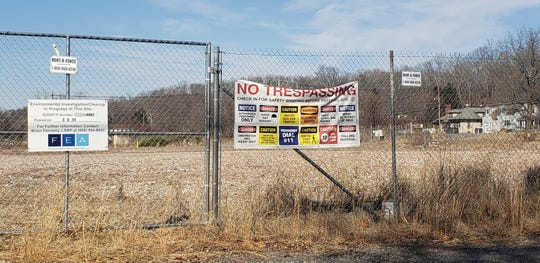 Frenchtown is considering the redevelopment of a former ceramics factory site opposite Frenchtown School.