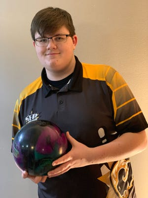 Southeast Polk junior Jensen Birdwell is headed to the state bowling tournament Feb. 26.