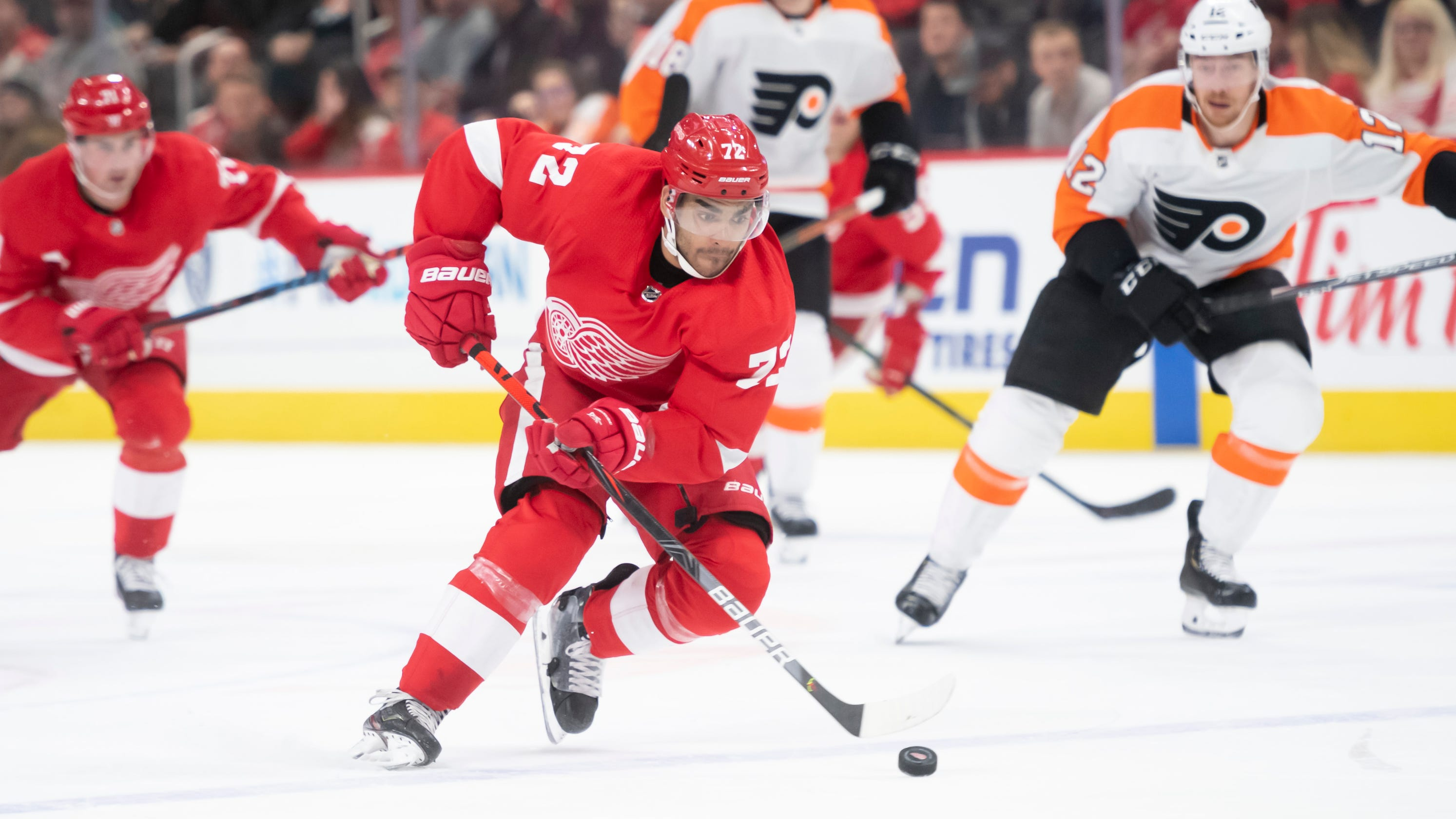 Report: Red Wings close to trading Andreas Athanasiou to Blue Jackets