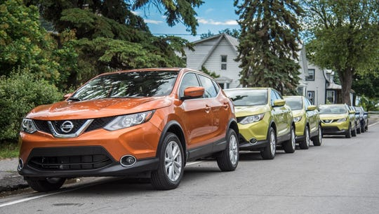The Qashqai, Nissan's European best-seller, is made at Sunderland, the U.K.'s biggest auto plant.