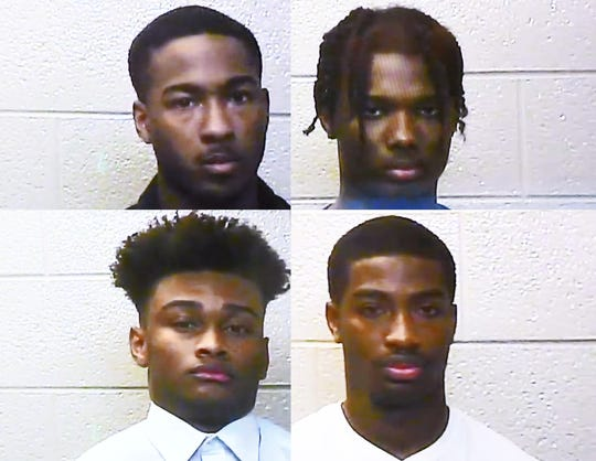 Sean Bonery, 18, of Warren, clockwise from top-left; Galiko Lovelace, 17, of Sterling Heights; Ricky Pearson, 18, of Eastpointe; and Michael Young, 18, of Sterling Heights.