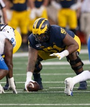 Cesar Ruiz is Michigan's fifth first-round draft pick in four years.