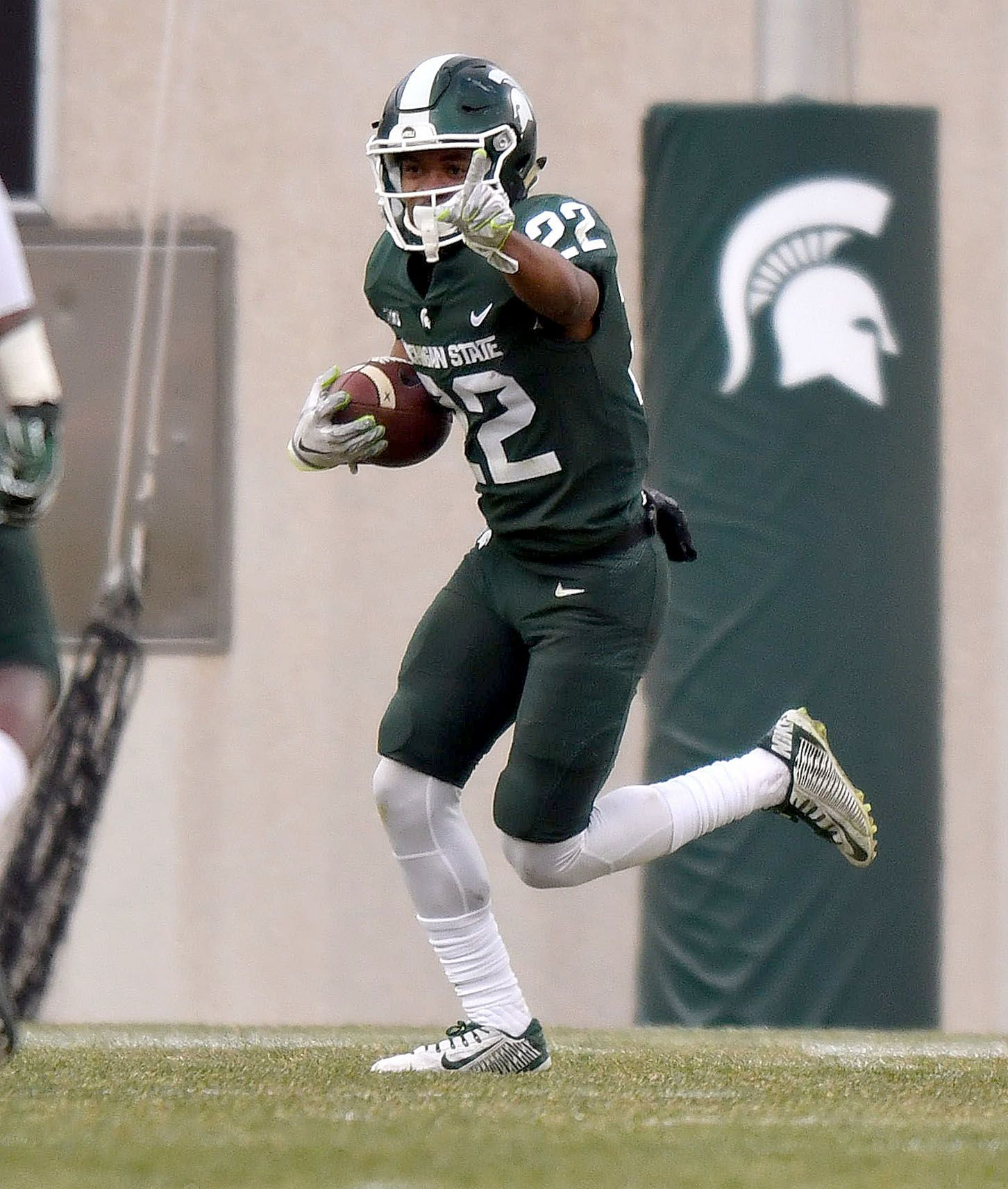 Cornerback Josiah Scott is one of two Michigan State players at the NFL Combine who entered the NFL Draft early.