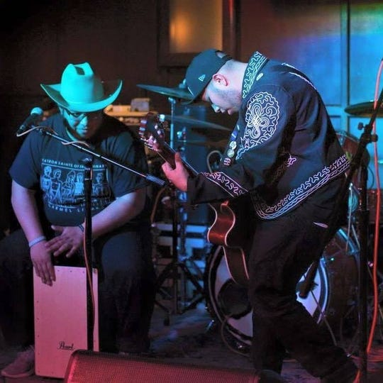 Mariachi punk duo Pancho Villa's Skull performs at the Hamtramck Music Festival Friday at 10:30 p.m. at the Painted Lady Lounge.