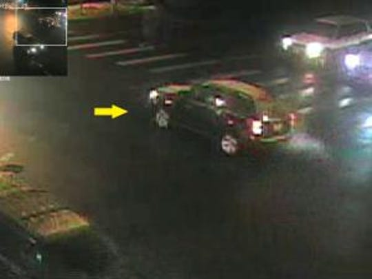 Fort Collins Police believe the occupants of this car may have information on the Feb. 12 Hit and Run that seriously injured a pedestrian.