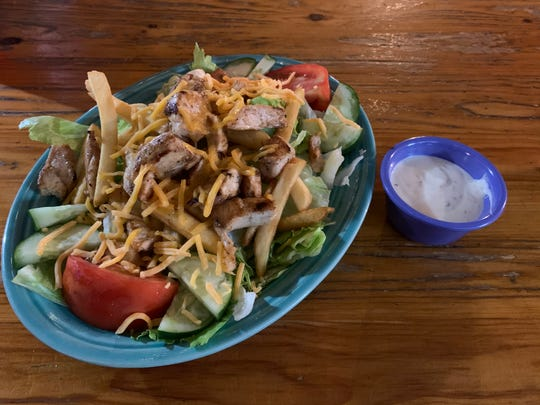Great White's famous Pittsburgh Salad features french fries for a Steel City twist.