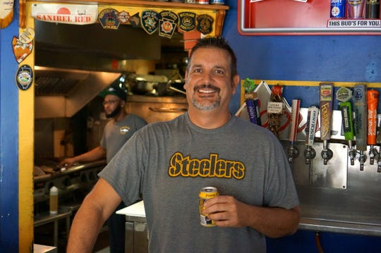 John Nader opened Great White Grill on Sanibel in 2004.