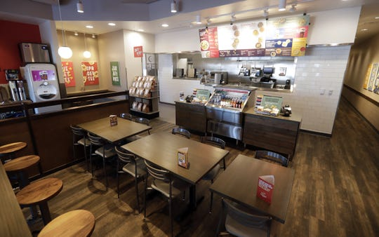 A new Noodles & Company with an upgraded kitchen design will open on Feb 26, 2020 on Lineville Road in Howard, Wis.