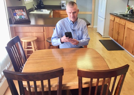 Matt Rosendale files Monday to run for the U.S. House via cellphone with the Secretary of State's office.