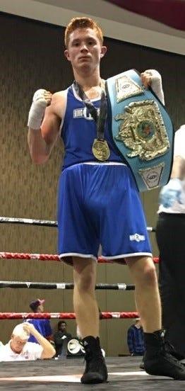 Alex Maldonado won the 114-pound weight class in the Super Bert Green Belt Challenge Sunday in Biloxi, Mississippi.