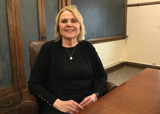 Republican precinct committeemen elected Frankfort Clerk-treasurer Judy Sheets on Saturday to serve as the city's mayor. She fills the term of Mayor Chris McBarnes, who resigned last month, effective Friday, to become the executive director of The WYldlife Fund in Wyoming.