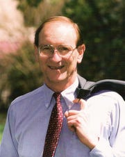 James S. Gilliland in Washington, 1993. Gilliland died Monday. He was 86.