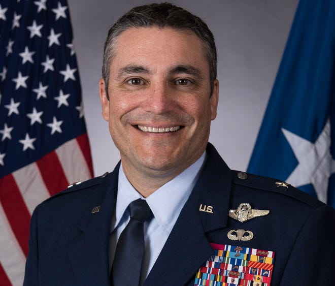 Brigadier Gen. Paul Knapp, an Air Force Reserve officer from Whitefish Bay, was named Monday, Feb. 24, 2019, the new chief of Wisconsin's National Guard