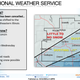 The heaviest snow from a winter storm that is forecast to move through the Midwest on Tuesday will miss southern Wisconsin and fall across northeastern Illinois, the National Weather Service said Monday.