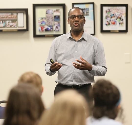 Reggie Jackson is an educator and consultant with Nurturing Diversity Partners. He also serves as head griot at America's Black Holocaust Museum in Milwaukee.