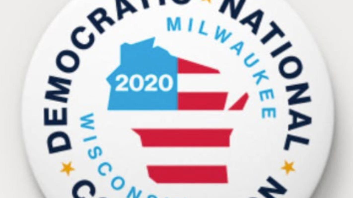 Here are the Wisconsin symbols designers say are referenced in the DNC 2020 logo
