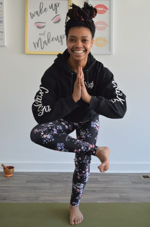 Ashlee Tuck, 22, of Milwaukee founded Ashlee's Crazy Yoga.