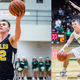 Picture of Delta's Brady Hunt and New Castle's William Grieser side-by-side.