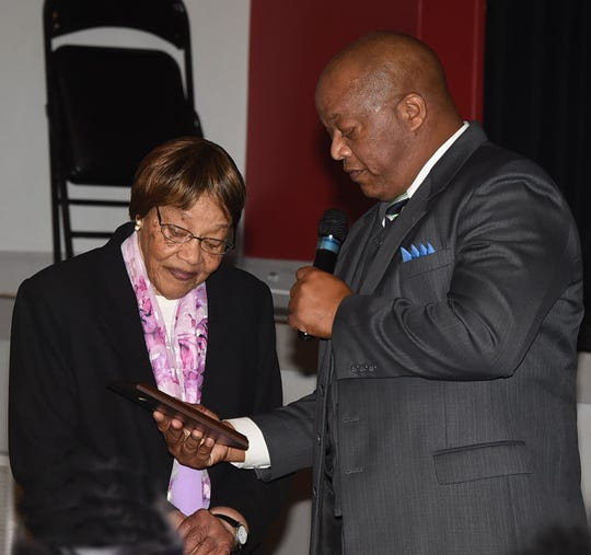 Outstanding Citizens Award presented to Regina Tatum