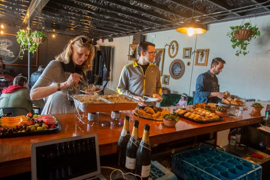 Emerald Republic Brewing held its No Exit one-person performance show and brunch buffet Feb. 23.