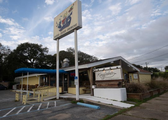 The Kingfisher Craft Sandwich and More restaurant has garnered a loyal following after opening in the former Slips restaurant building on Barrancas Avenue.