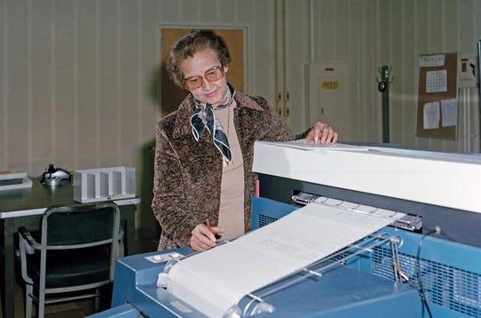 Katherine Johnson fue una prestigiada matemática.