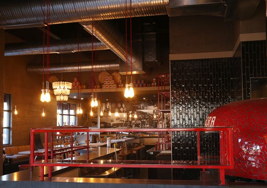 Inside the Pizza E Birra location on Main Street in the Town of Poughkeepsie on February 19, 2020.