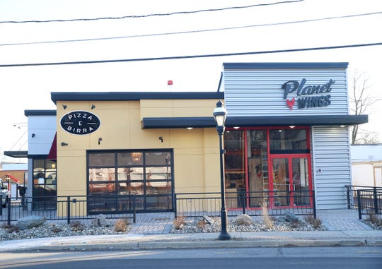 The Pizza E Birra and Planet Wings location on Main Street in the Town of Poughkeepsie on February 19, 2020.