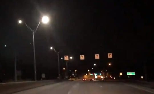 """Rochester's DOT spokesman Jordan Guerrein said the agency was """"made aware of malfunctioning highway lighting this morning along the Rochester area interstates."""""""