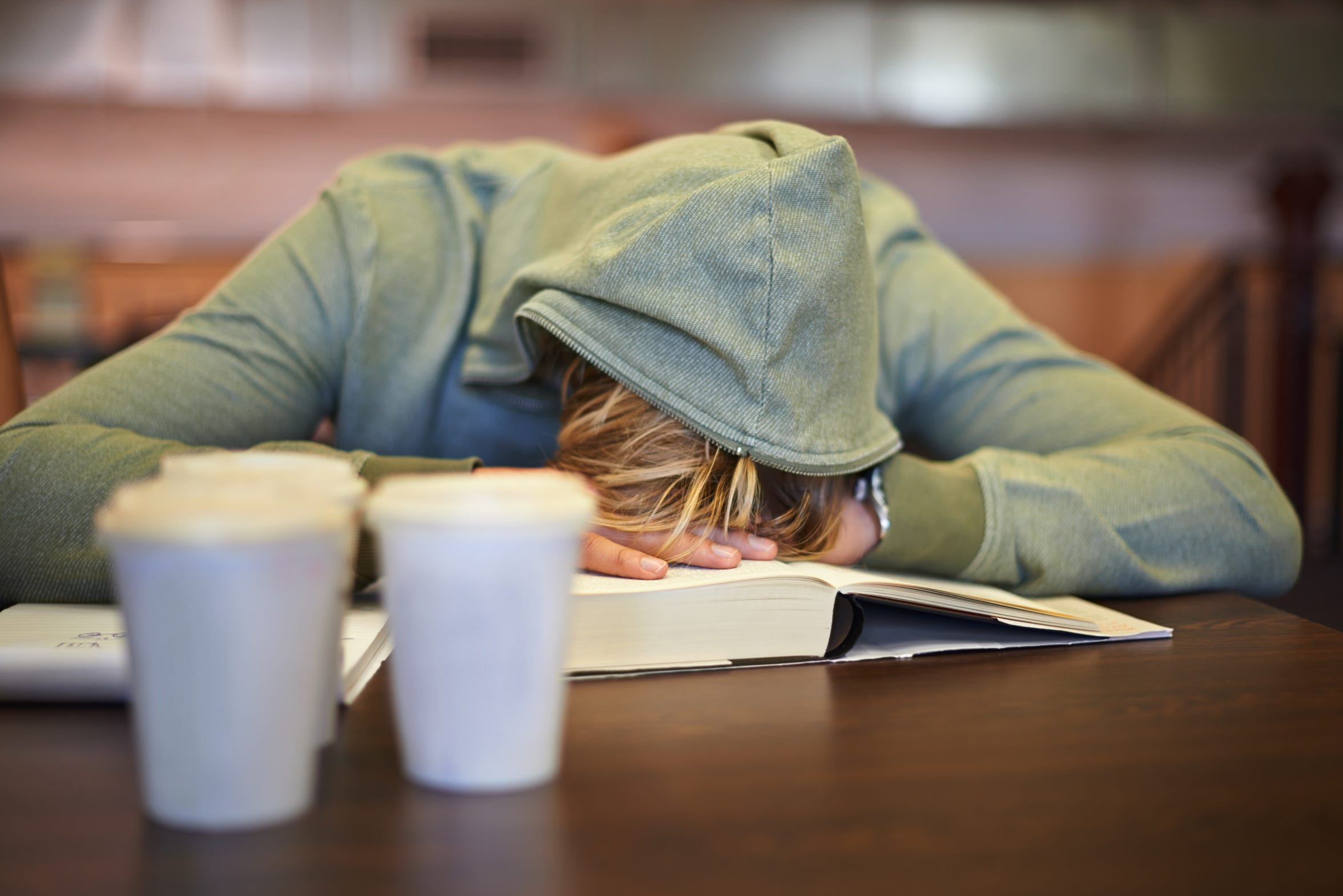 Sleep deprivation can affect a teenager's physical and mental health, academic performance and overall well-being.