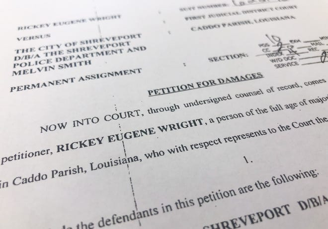 A local man is suing the City of Shreveport, Shreveport Police Department and a Shreveport police officer for damages on accusations of wrongful arrest and/or detention, false imprisonment and injury, stemming from an incident that took place in February 2019.