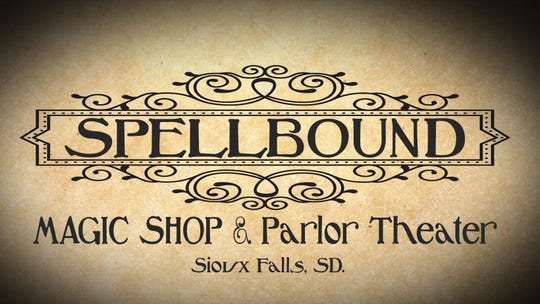 Spellbound Magic Shop and Parlor Theater logo