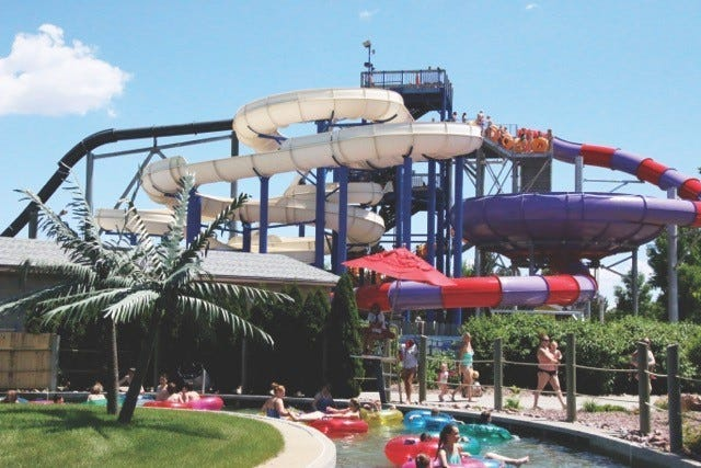 Wild Water West waterpark opened for the 2020 season earlier this year despite the ongoing coronavirus pandemic.