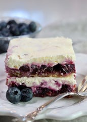 Blueberry Delight is a classic recipe and its variations have been around the block a few times.