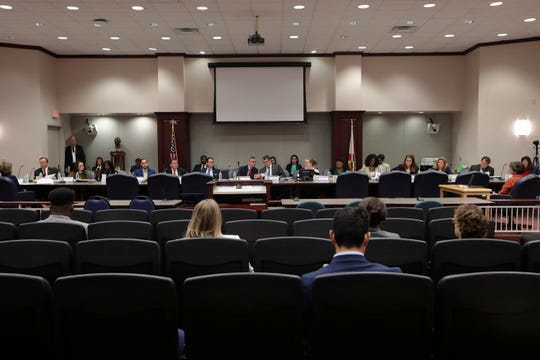 The Florida House Public Integrity & Ethics Committee met to public interview members of the Florida Coalition Against Domestic Violence (FCADV) board as part of an investigation into the board's mismanagement Monday, Feb. 24, 2020.