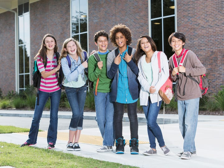 Middle school aged children can struggle to regulate their emotions and tempers.