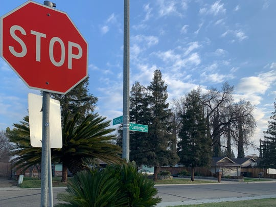 Visalia police were called to a home in the 4300 block of West Cambridge Avenue on Sunday, February 24, 2020.
