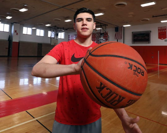 Scholar-Athlete North Rockland basketball player Matt Konicoff Feb. 24, 2020.