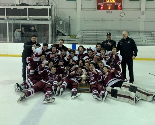 The hockey team is just one of Fordham Prep's many CHSAA New York City Champions.