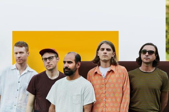 From left, Matt Kallman, Julian Lynch. Alex Bleeker, Jackson Pollis and Martin Courtney make up the band Real Estate.