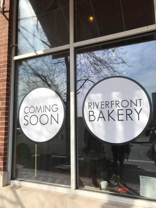 Riverfront Bakery is a new French-style bakery under construction on Justison Street, next to Riverfront Pets. It's scheduled to open later this spring.