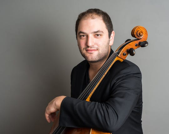 Cellist Julian Schwarz will perform Shostakovich's Cello Concerto no. 1 with the Wichita Falls Symphony Orchestra  at 7:30 p.m. Saturday at Memorial Auditorium. Tickets are available at www.WFSO.org.