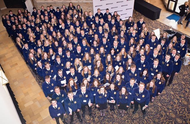 During the WFBF FFA Farm Forum, more than 180 FFA members from around the state attended workshops on post-secondary opportunities focusing on learning more about farming and Wisconsin's agricultural community.