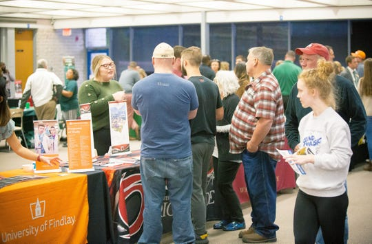 College Night is the largest event hosted by Coshocton C.A.R.E.S. each year with students and parents getting a chance to meet with representatives from colleges, trade schools, technical schools and the military.