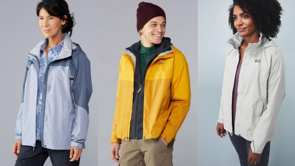 Finally, a rain jacket that you can move your arms in.