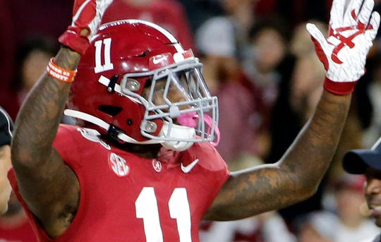 Alabama WR Henry Ruggs III is expected to post eye-popping numbers at this year's NFL scouting combine.