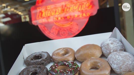 Krispy Kreme launches doughnut delivery